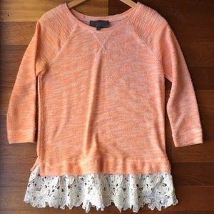 Anthropologie feminine blouse. XS